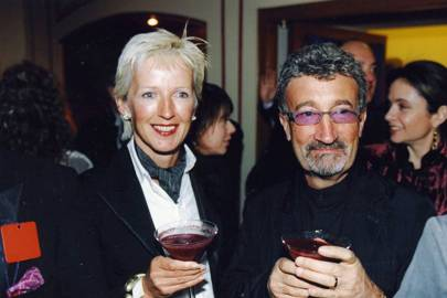 Eddie Jordan and Mrs Eddie Jordan