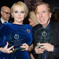 Miranda Richardson and Timothy Spall