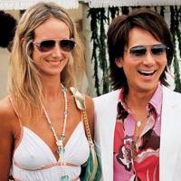 Lady Victoria Hervey and Andy Wong