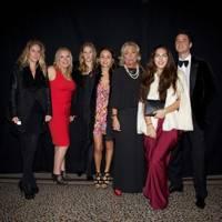 Andrea Gelardin, Emma Scanlan, Isobella Gaetani d'Aragona, Anna Boglione,  Countess Noemi Marone Cinzano, Lara Boglione and Harry Langton