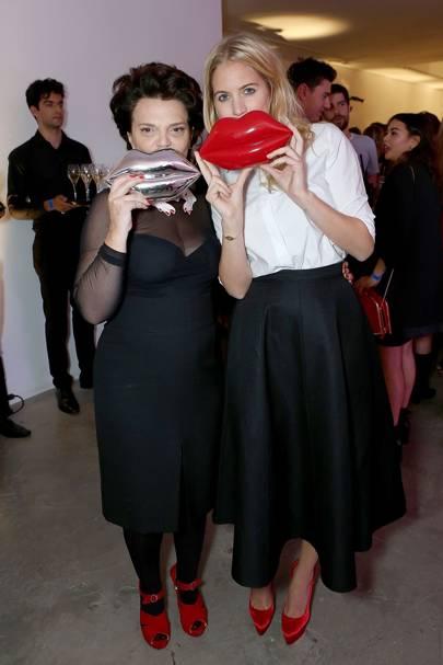 Lulu Guinness and Marissa Montgomery