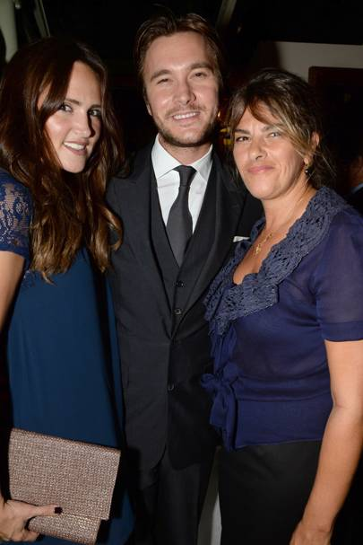 Elle Caring, Ben Caring and Tracey Emin