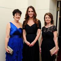 The Duchess of Cambridge, Amanda Pullinger and Mimi Drake
