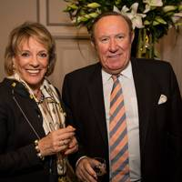Dame Esther Rantzen and Andrew Neil