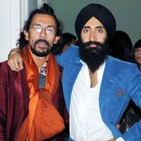 Haider Ackermann and Waris Ahluwalia