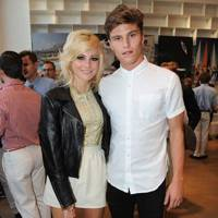 Pixie Lott and Oliver Cheshire