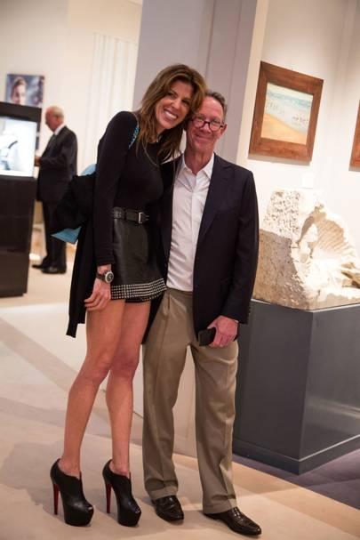 Lara Ross and Bruce Eichner
