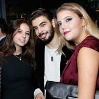 Oona Ortmans, Jack Sieff and Emmanuelle Zaoui