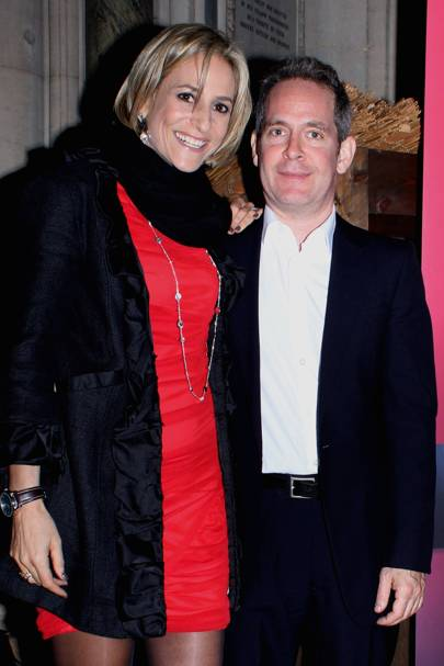 Emily Maitlis and Tom Hollander
