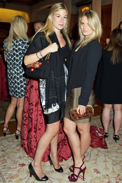Charlotte Woodruff and Kate Ryan