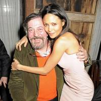 Stephen Fry and Thandie Newton