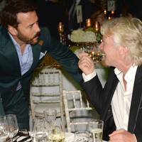 Jeremy Piven and Sir Richard Branson