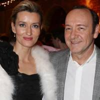 Natalie McElhone and Kevin Spacey