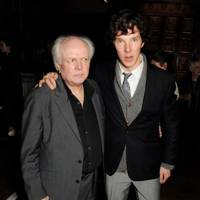 Michael Attenborough and Benedict Cumberbatch