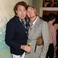 Jonathan Ross and Nicky Clarke
