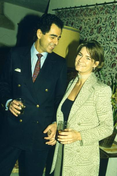 Manoli Olympitis and Mrs Manoli Olympitis