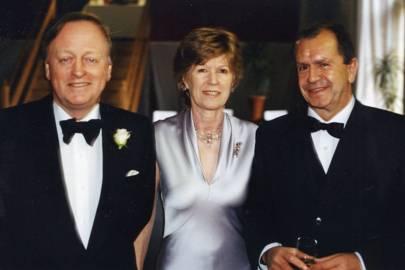 Andrew Parker Bowles, Mrs Andrew Parker Bowles and Jose Luis Usobiaga