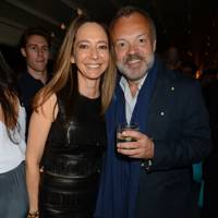 Whitney Bramberg Hawkings and Graham Norton