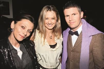 Christa D'Souza, Alice Brudenell-Bruce and Nick Love
