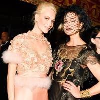 Poppy Delevingne and Princess Elisabeth von Thurn und Taxis