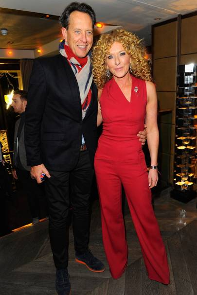 Richard E. Grant and Kelly Hoppen