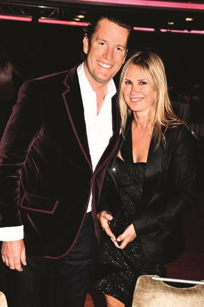 Rory Fleming and Caroline Legrand