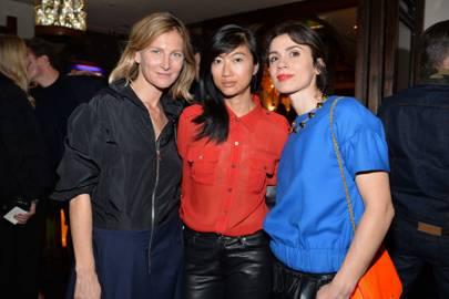 Elisabeth Von Guttman, Mimi Xu and Lara Bohinc