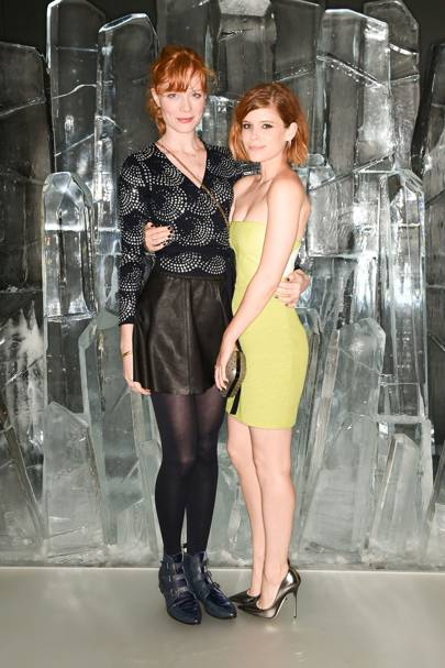 Jessica Joffe and Kate Mara