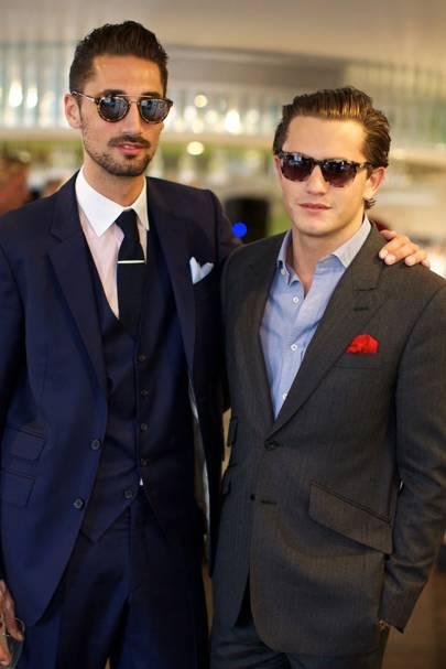 Hugo Taylor and Charlie Morris