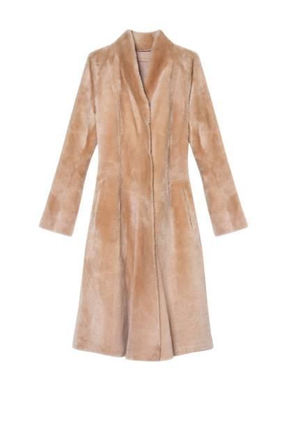 Lambskin coat, £6,690, Bottega Veneta