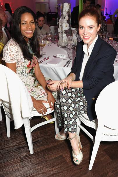 Naomie Harris and Angela Scanlon