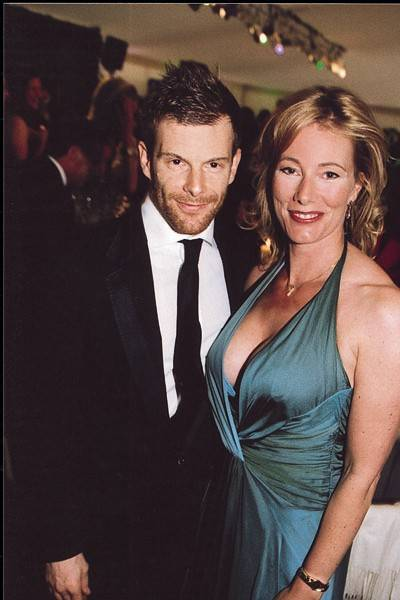 Tom Aikens and Mrs Charles O'Donnell