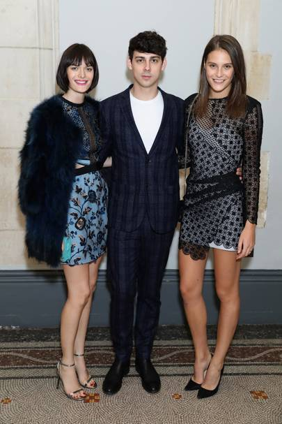 Charlotte Wiggins, Matt Richardson and Sam Rollinson