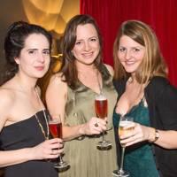 Lydia Clarke, Joanna Corlett and Sophie Capron