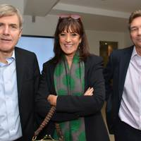 Tim Godfray, Dame Gail Rebuck and Fraser Tanner