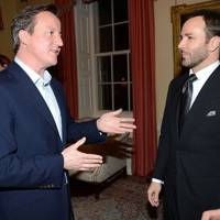 David Cameron and Tom Ford