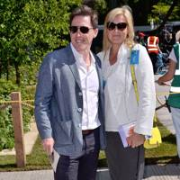 Rob Brydon and Claire Holland