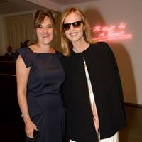 Tracey Emin and Eva Herzigova