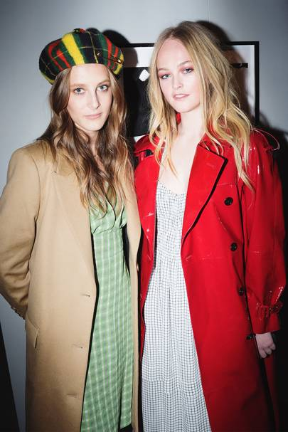 Olympia Campbell and Jean Campbell