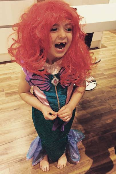 Erin Goldthorpe as The Little Mermaid