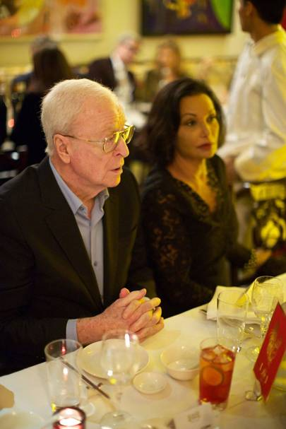 Sir Michael Caine and Lady Caine