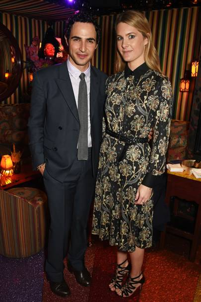 Zac Posen and Lady Kinvara Balfour