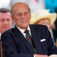 Prince Philip during the Diamond Jubilee, 2012