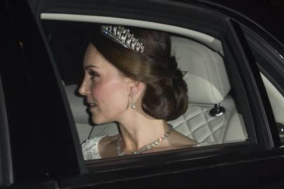 Diplomatic reception at Buckingham Palace, December 2017