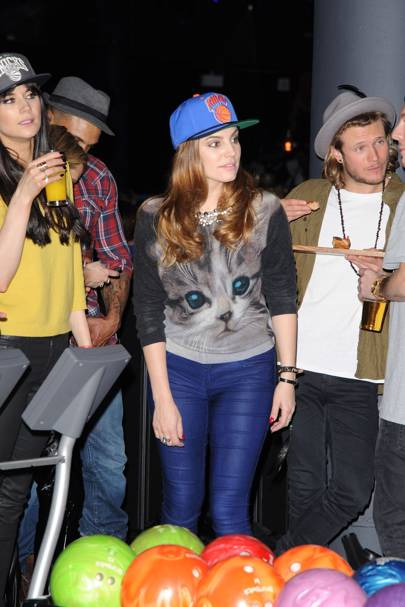 Lilah Parsons, Dougie Poynter, Kelly Brook and David McIntosh