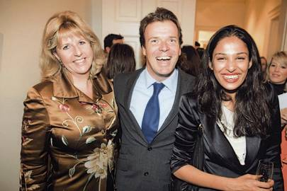 Mrs Charles Farr, Joel Cadbury and Saloni Lodha