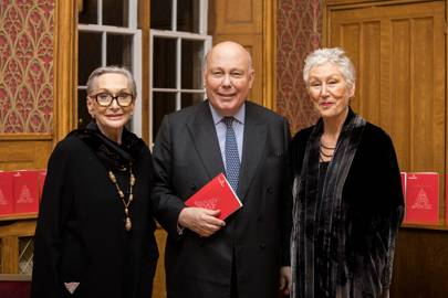 Dame Siân Phillips, Lord Fellowes and Richenda Carey