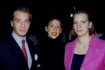 Prince Constantin Von Sachsen-Weimar Eisenach, Olivia Heaton and Princess Desiree von Sachsen-Weimar-Eisenach