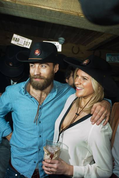 James Middleton and Michelle Hunter