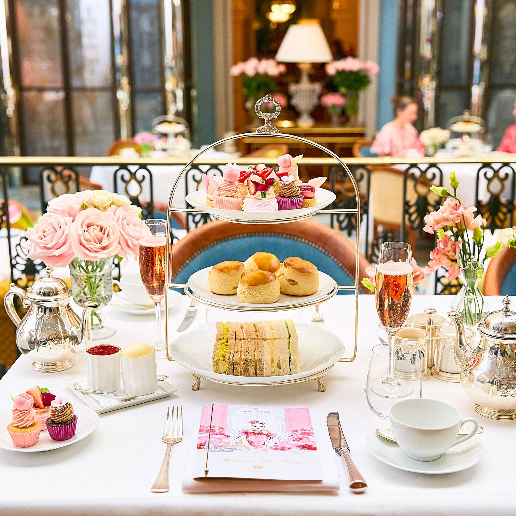 sketch london high tea